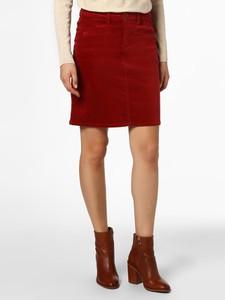 Czerwona spódnica Marie Lund w stylu casual