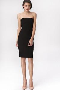 Czarna sukienka Merg mini