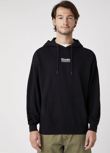 Czarna bluza Wrangler z bawełny