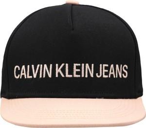 Czapka Calvin Klein z jeansu