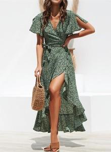 Sukienka Cikelly kopertowa