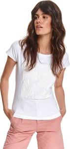 T-shirt Top Secret z okrągłym dekoltem