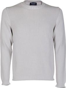Sweter Drumohr z wełny w stylu casual z okrągłym dekoltem