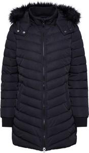 Czarny płaszcz LTB w stylu casual