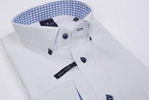 Koszula Lanieri z bawełny z długim rękawem