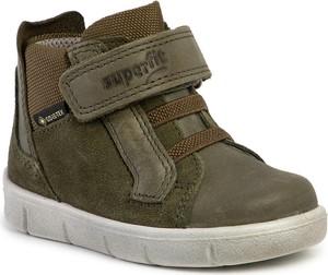 Buty dziecięce zimowe Superfit na rzepy z goretexu