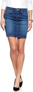Spódnica Wrangler w street stylu midi z jeansu