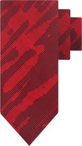 Czerwony krawat Hugo Boss