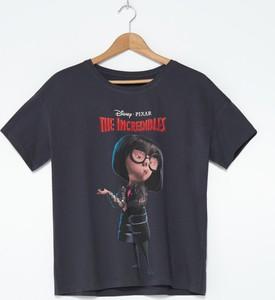 T-shirt House z bawełny w młodzieżowym stylu