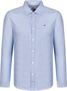 Koszula Tommy Jeans z długim rękawem z bawełny w stylu casual