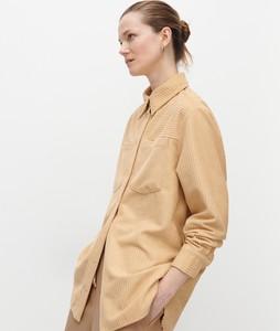 Koszula Reserved z długim rękawem w stylu casual ze sztruksu