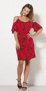 Czerwona sukienka Coline mini