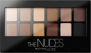 Maybelline New York, The Nudes Palette, paletka cieni do powiek, 85 g
