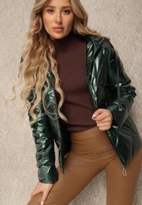 Zielona kurtka Renee w stylu casual