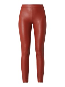 Spodnie Tom Tailor Denim ze skóry ekologicznej