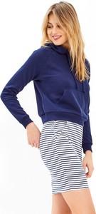 Bluza Gate w młodzieżowym stylu z bawełny krótka