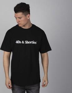 T-shirt 40s & Shorties z krótkim rękawem w młodzieżowym stylu