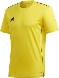 T-shirt Adidas Teamwear z krótkim rękawem w sportowym stylu z dżerseju