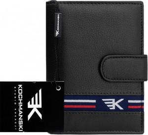 e0a15e549f9f2 Portfel męski Kochmanski Studio Kreacji® na karty kredytowe ze skóry