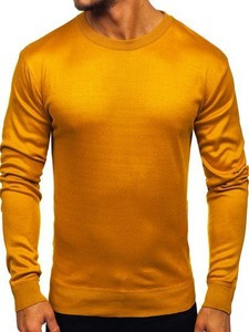 Pomarańczowy sweter Denley