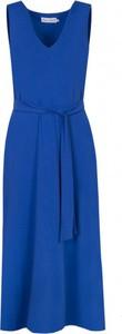 Niebieska sukienka Kasia Miciak design maxi