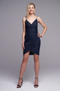 Granatowa sukienka Ella Boutique mini