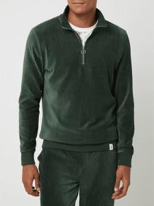 Zielony sweter McNeal z bawełny ze stójką