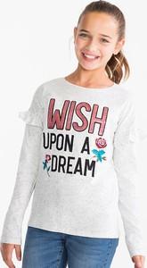 Koszulka dziecięca Here And There z bawełny