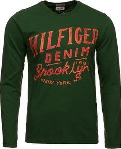 Koszulka z długim rękawem Tommy Hilfiger w młodzieżowym stylu z bawełny