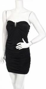 Czarna sukienka GLAM bez rękawów