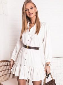 Sukienka SELFIEROOM z długim rękawem w stylu casual mini