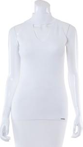 acd923f039a04 Białe bluzki i tuniki damskie bez rękawów Michael Kors, kolekcja ...