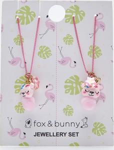 Sinsay - Naszyjniki dla przyjaciółek 2 pack - Różowy