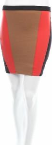 Brązowa spódnica Tally Weijl w geometryczne wzory