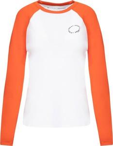 Bluzka Dkny Sport z okrągłym dekoltem