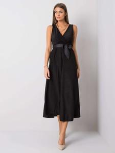 Czarna sukienka Sheandher.pl midi