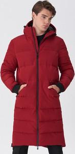 Czerwony płaszcz męski House