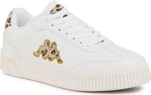 Buty sportowe Kappa na platformie sznurowane