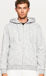 7daca1285d6f3 Białe swetry i bluzy męskie Reserved wyprzedaż