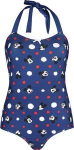 Granatowy strój kąpielowy Emp w stylu casual