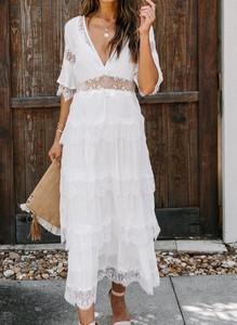Sukienka Cikelly w stylu boho maxi