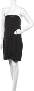 Czarna sukienka 4th & Reckless mini bez rękawów