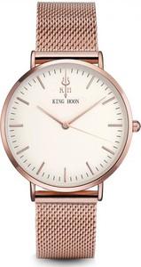 Damski zegarek king hoon na bransolecie rose gold