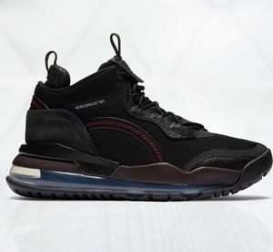 Czarne buty sportowe Jordan sznurowane