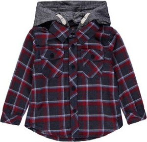 Koszula dziecięca Kanz z bawełny dla chłopców w krateczkę