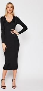 Sukienka Twinset midi z długim rękawem