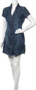 Sukienka Fresh Made w stylu casual mini z krótkim rękawem