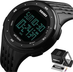 Zegarek MĘSKI sportowy SKMEI 1219 CHRONOGRAF black