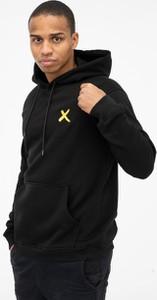Czarna bluza Point X z bawełny w młodzieżowym stylu