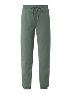 Zielone spodnie Vero Moda z bawełny